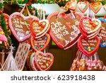Gingerbread Hearts At German...