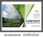 presentation layout design... | Shutterstock .eps vector #623921510
