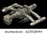 isometric futuristic sci fi... | Shutterstock . vector #623928494