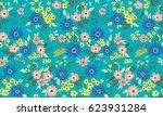 vector seamless pattern. cute...   Shutterstock .eps vector #623931284