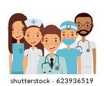 medicine professional people | Shutterstock .eps vector #623936519