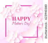 happy mother's day. vector... | Shutterstock .eps vector #623940380