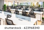 interior of a modern office | Shutterstock . vector #623968340