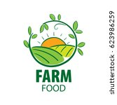 logo farm food | Shutterstock .eps vector #623986259