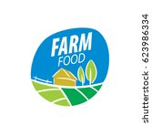 logo farm food | Shutterstock .eps vector #623986334