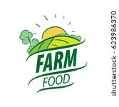 logo farm food | Shutterstock .eps vector #623986370