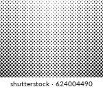gradient dots background. pop... | Shutterstock .eps vector #624004490