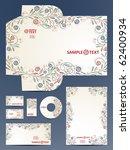 stationery set  eps10 | Shutterstock .eps vector #62400934