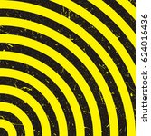 line yellow and black. caution... | Shutterstock .eps vector #624016436