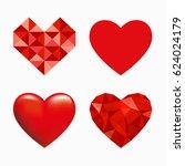 heart symbol   Shutterstock .eps vector #624024179