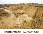 a criminal quarry for the... | Shutterstock . vector #624024530