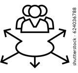 community vector icon | Shutterstock .eps vector #624036788