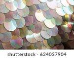 sequins pattern texture | Shutterstock . vector #624037904