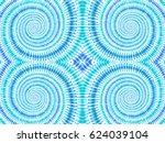 boho tie dye background. hippie ... | Shutterstock .eps vector #624039104