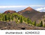 ruta de los volcanes  la palma | Shutterstock . vector #62404312