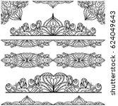 islamic arabic seamless pattern ... | Shutterstock .eps vector #624049643