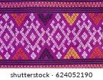 folk traditional fabric pattern ...   Shutterstock . vector #624052190
