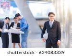 business people group and team... | Shutterstock . vector #624083339