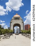 monument to the mexican... | Shutterstock . vector #624094646