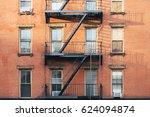 apartment building | Shutterstock . vector #624094874
