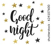 """""""good night"""". poster with... 