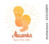 Signs Of The Zodiac. Aquarius ...