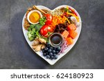 healthy diet for the... | Shutterstock . vector #624180923