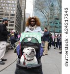 new york city   april 15 2017 ... | Shutterstock . vector #624217343