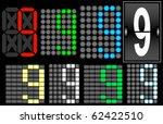 font set 4 digital display...