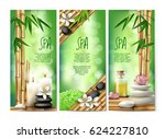 vector banners in realistic... | Shutterstock .eps vector #624227810