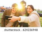 friendship  leisure  spring ... | Shutterstock . vector #624236948