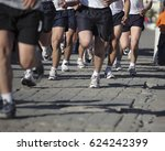 runners training  marines | Shutterstock . vector #624242399