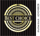best choice shiny badge | Shutterstock .eps vector #624248828