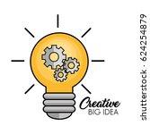creative big idea icons | Shutterstock .eps vector #624254879