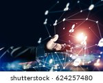 background conceptual image... | Shutterstock . vector #624257480