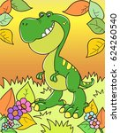 coloring page outline of... | Shutterstock .eps vector #624260540