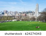 Small photo of Skyline of Pittsburgh, Pennsylvania from Schenley Park