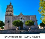 immaculate conception church  ... | Shutterstock . vector #624278396