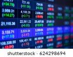 stock market chart stock market ... | Shutterstock . vector #624298694