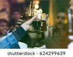 craft beer booze brew alcohol... | Shutterstock . vector #624299639