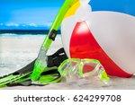 summer vacation on the seaside...   Shutterstock . vector #624299708