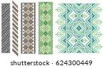 traditional ukrainian folk art... | Shutterstock .eps vector #624300449