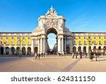 lisbon  portugal   december 19  ...   Shutterstock . vector #624311150