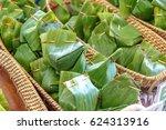 philippines food   halaya wrap...   Shutterstock . vector #624313916