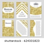 abstract vector layout... | Shutterstock .eps vector #624331823