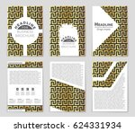 abstract vector layout... | Shutterstock .eps vector #624331934