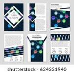 abstract vector layout...   Shutterstock .eps vector #624331940