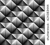 design seamless square convex... | Shutterstock .eps vector #624383444