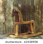 Old Rocking Horse In The...