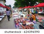 luang prabang  lao   april 5  ... | Shutterstock . vector #624396590